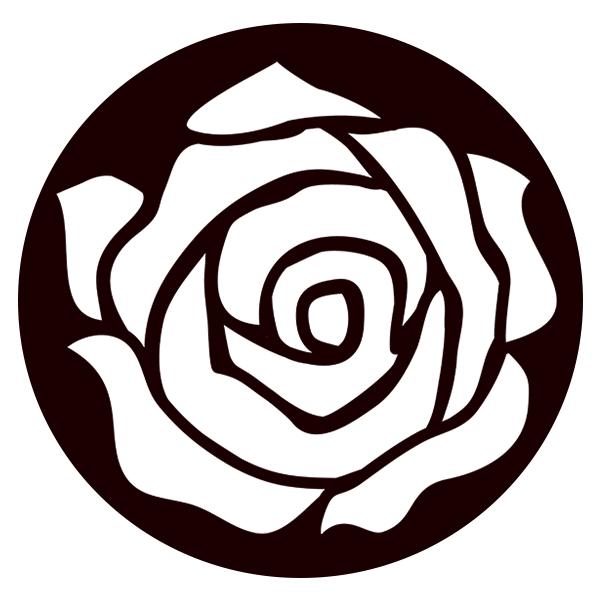 Rose Bloom 1 Gobo For Eddy Light Gobo Projector