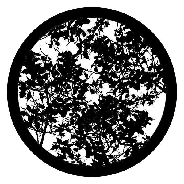 Thick Tangled Leaves 1 Gobo For Eddy Light Gobo Projector