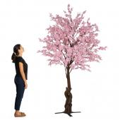 10FT Tall Large Fake Cherry Blossom Bloom Tree - Blush/Light Pink