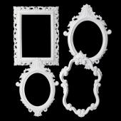 Decostar™ Plastic Frame - Set of 4 - White