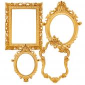 Decostar™ Plastic Frame - Set of 4 - Gold