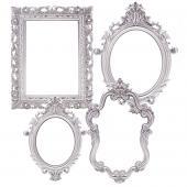 Decostar™ Plastic Frame - Set of 4 - Silver