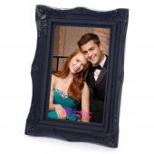 "Fancy Ornate Black Frame - 4"" x 6"""