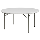 """60"""" Round Resin Table - 30"""" Tall"""