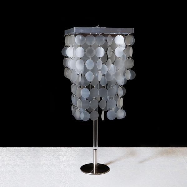 Faux capiz chandelier capiz tiered chandelier aloadofball Images