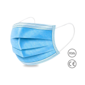 Covid-19 Prevention 3 Layer Safety Masks - 50pcs. - FDA Approved Manufacture!