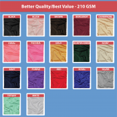 210 GSM Better Quality/Best Value Quality 60