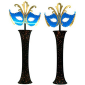 Mysterious Mask Columns Kit - set of 2