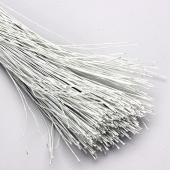Decostar™ Covered White Wire - 1 KG - 24 Pieces