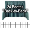 "Trade Show Booth Package #2 - 24 ""Back-to-Back"" Trade Show Booths"
