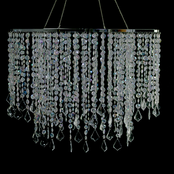 Diameter Multi Diamond Cut Chandelier Crystal - Long chandelier crystals