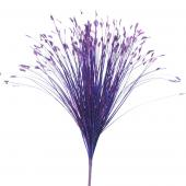 "Decostar™ Onion Grass Spray 27 ½"" - 12 Pieces - Purple"