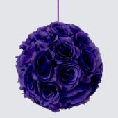 Decostar™ Rose Silk Flower Pomander Kissing Ball 10