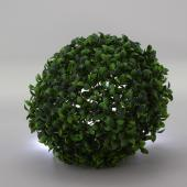 "Decostar™ Artificial Plant Topiary Ball Boxwood Ball - 7.5"" - 12 Pieces"