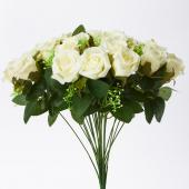 Decostar™ Artificial Rose Bud Bouquet 18