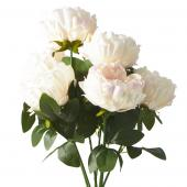 "Artificial Cabbage Rose 20"" - 24 Bunches - Blush"