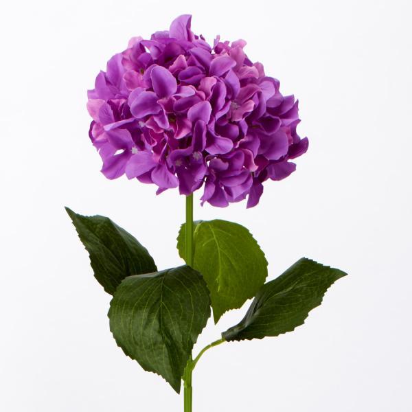 Decostar artificial hydrangea stem 34 36 pieces purple mightylinksfo