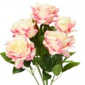 Decostar™ Artificial Deluxe Elegant Rose Bundle 21½
