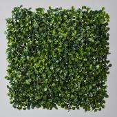"Decostar™ Artificial Boxwood Mat - 11"" x 11"" - 24 Pieces"