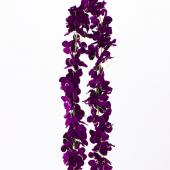 "Decostar™ Artificial Flower Garland 80"" - 24 Pieces - Purple"