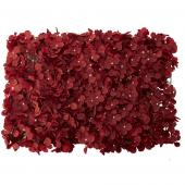 "Artificial Flower Mat 24"" - 12 Units - Burgundy"