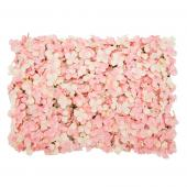 "Decostar™ Artificial Flower Mat 24""  - 12 Pieces - Blush"