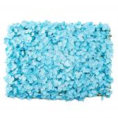 "Decostar™ Artificial Flower Mat 24""  - 12 Pieces - Blue"