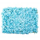 """Decostar™ Artificial Flower Mat 24"""" - 12 Pieces - Blue"""