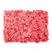 "Decostar™ Artificial Flower Mat 24""  - 12 Pieces - Coral"