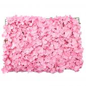 "Decostar™ Artificial Flower Mat 24""  - 12 Pieces - Pink"
