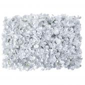 "Decostar™ Silver Artificial Flower Mat 24"" - 12 Mats"