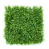 "Decostar™ Artificial Boxwood Mat - 10"" x 10"" - 24 Pieces"