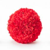 "Decostar™ Hydrangea Flower Ball 8""  - 12 Pieces - Red"