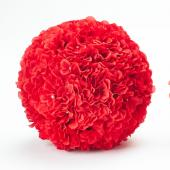"Decostar™ Hydrangea Flower Ball 10""  - 12 Pieces - Red"