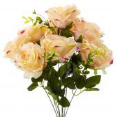 "19"" Blush Artificial Flower Bouquet - 12 Bunches"