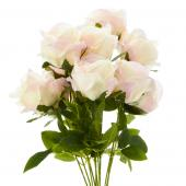 "23"" Blush Artificial Flower Bouquet - 12 Bunches"