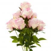 "23"" Natural Pink Artificial Flower Bouquet - 12 Bunches"