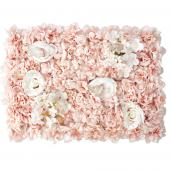 Decostar™ Blush Artificial Mixed Flower Mat - 12 Mats
