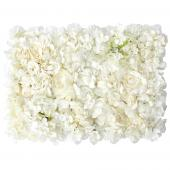 Decostar™ Ivory  Artificial Mixed Flower Mat - 12 Mats