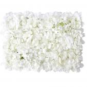 Decostar™ White Artificial Mixed Flower Mat - 12 Mats