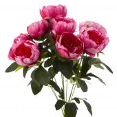 Decostar™ Artificial Flower Bouquet - Pink Peony - 12 Pieces