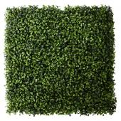 "21"" x 21"" Artificial Boxwood Mat - 12 Mats"