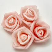 "Decostar™ Foam Rose 1 3/8"" - 100 Piece Bag - Blush"