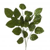 "Artificial Ficus Leaf Stem - 24""x 27"" - 10 Pieces"