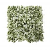"Artificial 10"" x 10"" Clover Mat - 24 - Green/White"
