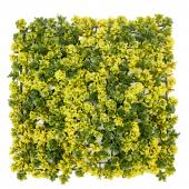 Fall Boxwood Leaves Mat - 24 Panels - Yellow