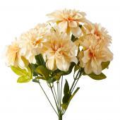 Artificial Dahlia Flower Bunch - 36 Pieces - Blush