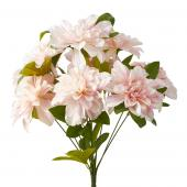 Artificial Dahlia Flower Bunch - 36 Pieces - Pink