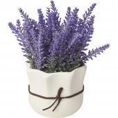 Artificial Lavender Plant  - 24 Pieces - Purple