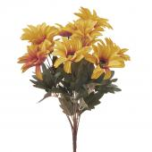 "Artificial African Daisies Sunflower 18"" - 24 Pieces - Yellow"